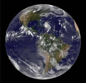 [스페이스]가을의 첫날 '추분'..지구는 푸르다