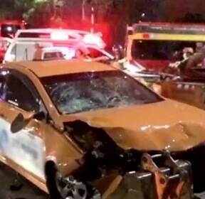 공사 현장 덮친 택시에 1명 사망, 2명 부상..주말 사건사고
