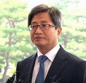 """[현장영상] 김명수 대법원장 첫 출근, """"무거운 책임감 느껴"""""""
