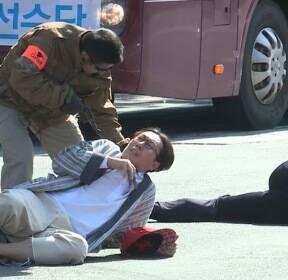[비디오머그] 경찰의날 맞아 테러단에 납치된 개그맨 김영철