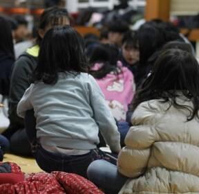 """[단독] """"대피? 놀러 가는거?"""" 지진난 고아원 돌아가는 아이들"""