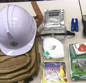 생존배낭 판매량 '쑥'..불안감에 재난 용품 매출도 증가