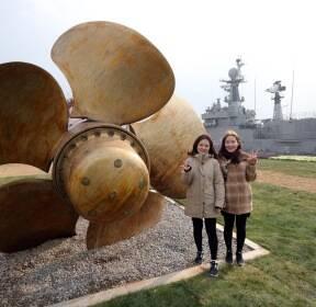 [서소문사진관] 1900톤 군함 한강에 떴다. '서울함공원' 개장