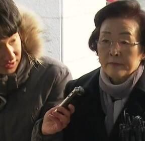 """'취업 청탁' 신연희 강남구청장 경찰 조사..""""묵묵부답"""""""