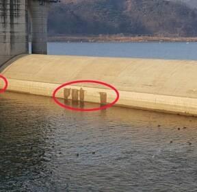 4대강 보 수문 개방에 드러난 진실, 곳곳 '누수현상'