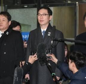 남북 차관급 실무회담 남측 대표단