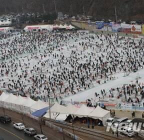 화천산천어축제 주말 20만 '구름인파'..130만 돌파 초읽기