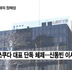 신동빈 회장, 日롯데홀딩스 대표 사임..복귀 가능성은?