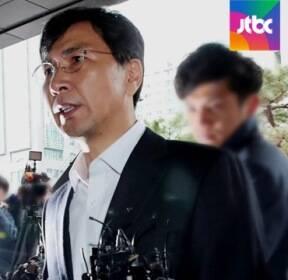 """입장 바꾼 안희정 """"합의한 성관계""""..20시간 밤샘 조사"""