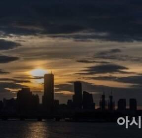 [포토] 아름다운 한강의 노을
