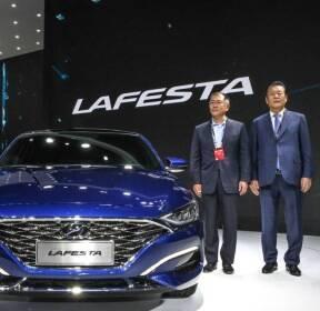 [베이징]현대차, 역동성 강조한 중국 전용 '라페스타'