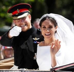 [서소문사진관]파격의 연속! 사진으로 본 해리,마클 세기의 결혼식