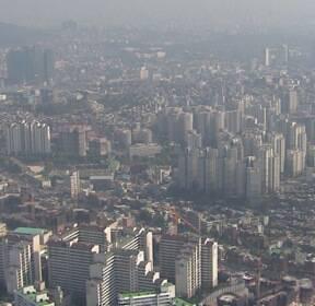 강남4구 부동산 '거래절벽'..주택 거래 60% 하락