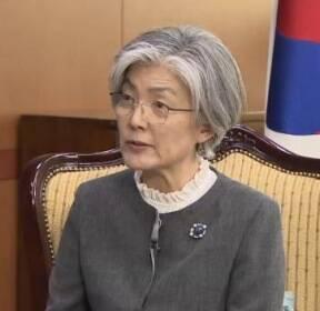 """강경화 """"北 최선희 발언, 외교상 있을 수 없는 일"""""""
