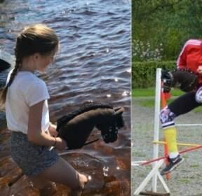 핀란드 소녀들의 인기 스포츠 '하비 호스'를 아시나요