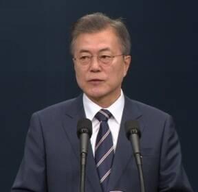 """[현장 영상] 문 대통령 """"남북 정상, 북·미 정상회담 성공 뜻 모아"""""""