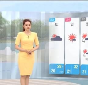 [날씨] 내일 불볕으로 일부 지역 폭염주의보..초미세먼지 주의