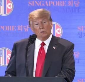 트럼프, 대북제재 1년 연장..'비핵화 후 제재 해제' 재확인