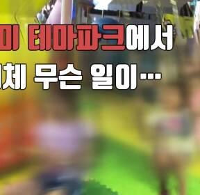 [자막뉴스] 쓰러진 놀이기구..월미테마파크 또 사고