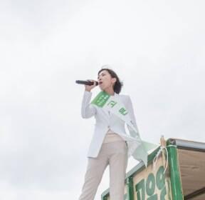 [김민아의 후 스토리]⑪제주지사 선거에서  '녹색 돌풍' 일으킨 고은영