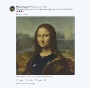 프랑스 대표팀 유니폼 입은 '모나리자'에 분노한 이탈리아
