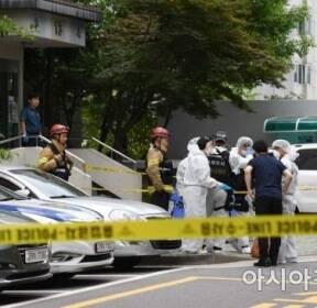 [포토]'드루킹 불법자금 의혹' 노회찬 정의당 원내대표 투신 자살..
