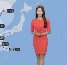 [날씨] 다시 폭염 기승..태풍 '솔릭' 북상 중