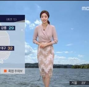 [날씨] 대부분 폭염 해제..19호 태풍 '솔릭' 북상 중