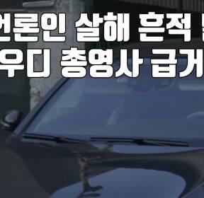 """[자막뉴스] """"언론인 살해 흔적 발견""""..사우디 총영사 급거 귀국"""