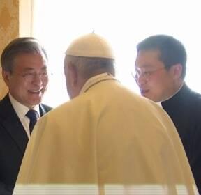 """[청와대] 교황, 사실상 방북 수락..""""공식 초청장 오면 갈 수 있다"""""""