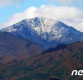 가을과 겨울이 공존하는 설악산