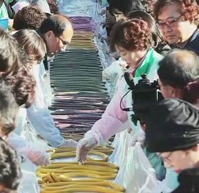 [수도권] 가마솥 밥 짓고 가래떡 만들어요..이천 '쌀문화축제'