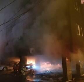 김해 원룸서 불..4살 아이 숨지고 9명 중·경상(종합2보)