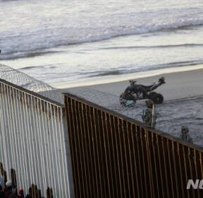 중미 이민캐러밴, 어느새 미-멕시코 국경 도착