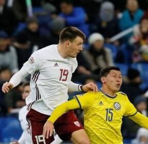 [네이션스 리그] 리그 D..카자흐, 홈서 라트비아와 1-1 무승부
