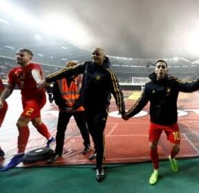 [네이션스 리그] 벨기에, 아이슬란드 꺾고 3연승 질주
