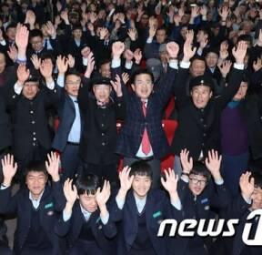 '58년 전 함성이 환호로!'..3·8민주의거 국가기념일 축하