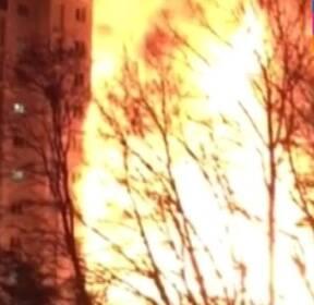 [현장클릭] 의정부 모델하우스 대형 화재..주민 대피 소동