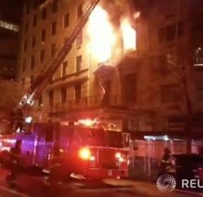 뉴욕 주재 세르비아 총영사관에 화재 발생