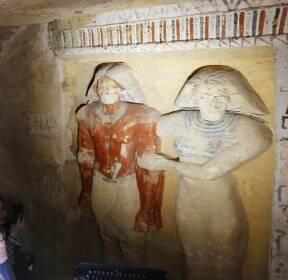 [서소문사진관] 보존 상태 완전, 3000년 전 왕실 사제 무덤에서 깨어났다!