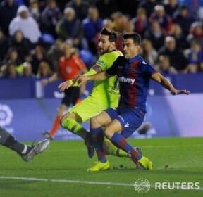[라 리가] 바르셀로나..메시, 3골 2도움