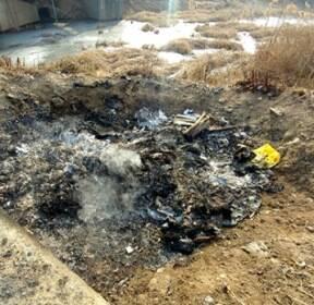 '폐비닐·플라스틱' 마구잡이 불법소각, 유독물질 배출해도 '계도뿐' [사진in세상]