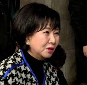 """손혜원, 목포서 결백 주장..""""부동산 매입 적법 절차"""""""