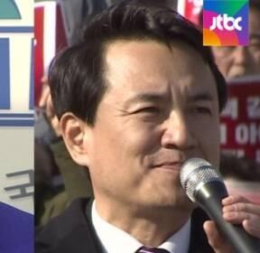 [국회] 안상수 '송판 격파', 김진태 '세 결집'..전대 출마 선언