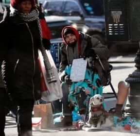 뉴욕 노숙인의 겨울나기