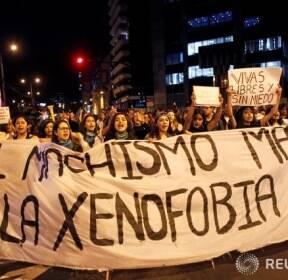 """에콰도르, """"외국인 혐오증이 사람을 죽이고 있다"""""""