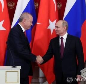 러시아-터키 정상회담, 시리아 정세 논의