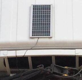 [기자의 일상]화물차 위에도 태양광 패널이