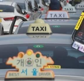 택시 미터기 교체 장사진..'비용 담합' 의혹도 제기