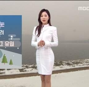 [날씨] 중부 내륙 1cm 눈..밤사이 스모그 유입
